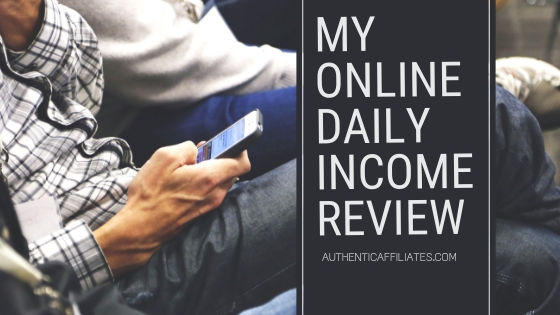 My Online daily Income