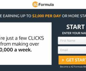 AZ Formula Review: Can I Make Money Online Or Is It A Scam