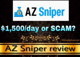 AZ Sniper Review: Scam Or Can I Really Make $10K A Week