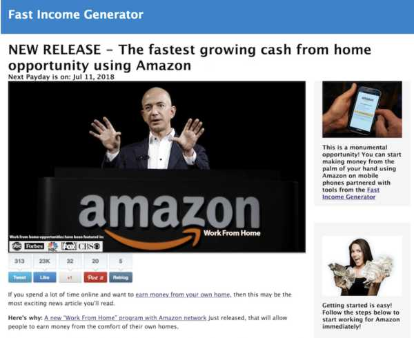 Fast Income Generator Review