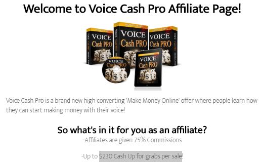 Voice Cash Pro