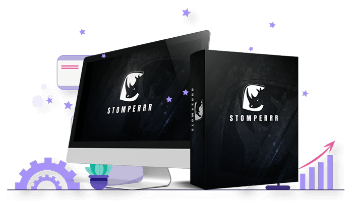Stomperrr Review - Is image of the stomperrr software packaging