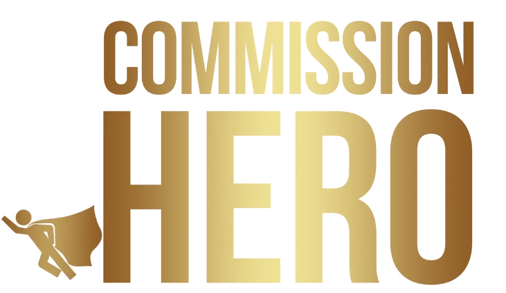 Commission Hero is logo