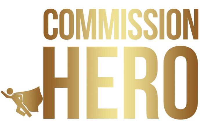 Commission Hero is logo